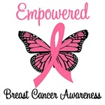 Empowered Breast Cancer T-Shirts & Gifts