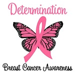 Determination - Breast Cancer T-Shirts & Gifts