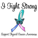 Thyroid Cancer I Fight Strong T-Shirts & Gifts
