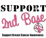 Support Second Base Breast Cancer T-Shirts & Gifts
