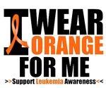 I Wear Orange For Me Leukemia Shirts