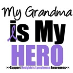 Hodgkin's Lymphoma Hero (Grandma) Shirts