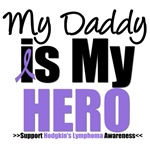 Hodgkin's Lymphoma Hero (Daddy) Shirts