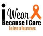 I Wear Orange Because I Care Shirts & Gifts