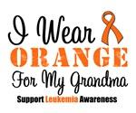 I Wear Orange For My Grandma Grunge Shirts