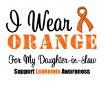 I Wear Orange For My Daughter-in-Law Grunge Shirts
