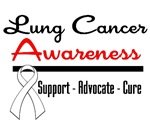 Lung Cancer Awareness Shirts & Gifts