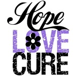 Hope Love Cure Hodgkin's Lymphoma Shirts & Gifts