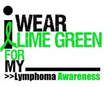 I Wear Lime Green Lymphoma Shirts & Gifts