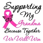Breast Cancer Support (Grandma) Shirts & Gifts