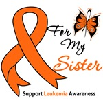 Leukemia Ribbon For My Sister Shirts & Gifts