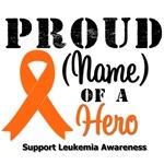 Proud Family of a Leukemia Hero T-Shirts & Gifts
