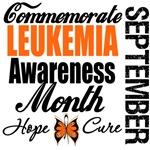 Commemorate Leukemia Awareness Month T-Shirts