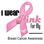 Breast Cancer Pink Ribbon Support Shirts