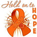 Hold on to Hope Kidney Cancer Shirts