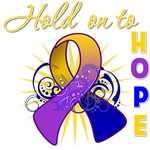 Hold Onto Hope Bladder Cancer Shirts