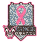 Breast Cancer Survivor Vintage Butterfly Shirts