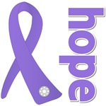 Hope Ribbon Hodgkin's Lymphoma Shirts