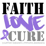 Faith Love Cure Hodgkins Lymphoma Shirts