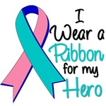 I Wear Ribbon Thyroid Cancer Shirts