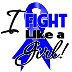 I Fight like a Girl Colon Cancer Shirts and Gifts