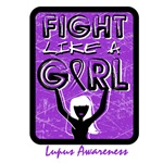 Fight Like Girl Slogan Lupus