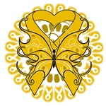 Appendix Cancer Butterfly Shirts and Gifts