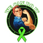 We Can Do It Rosie The Riveter Lymphoma Shirts