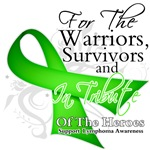 Tribute Lymphoma Hero Shirts and Gifts
