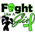 Fight Like a Girl Boxing Lymphoma Shirts and Gifts