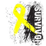 Survivor Sarcoma Ribbon Shirts and Gifts