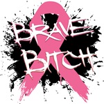Brave Bitch Breast Cancer Shirts