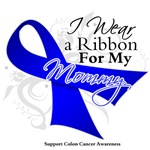 Mommy Colon Cancer Support Shirts