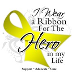 Sarcoma Cancer Hero in My Life Shirts