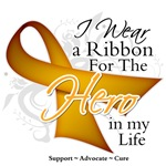 Appendix Cancer Hero in My Life Shirts