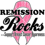 Remission Rocks Breast Cancer Shirts