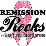 Remission Rocks Breast Cancer Shirts