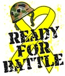 Ready For Battle Sarcoma Cancer Shirts