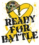 Ready For Battle Childhood Cancer Shirts