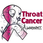 Throat Cancer Awareness Shirts 