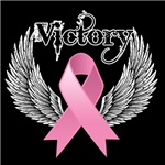 Victory Wings Breast Cancer Shirts