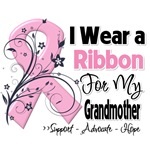 Grandmother Pink Ribbon Breast Cancer Shirts