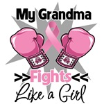 My Grandma Fights Like a Girl Breast Cancer Shirts