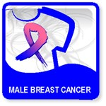 Male Breast Cancer Shirts and Gear
