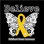 Believe - Childhood Cancer Shirts and Gifts