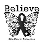 Believe - Skin Cancer Shirts and Gifts
