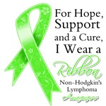 Non-Hodgkins Lymphoma Hope Support and Cure Shirts