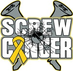 Screw Childhood Cancer Funny Shirts