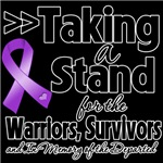 Taking a Stand GIST Cancer Shirts