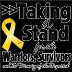 Taking a Stand Childhood Cancer Shirts 